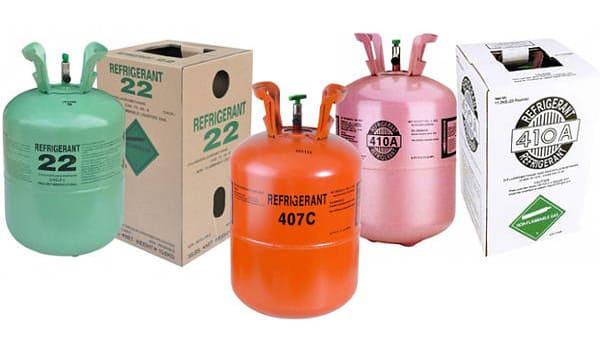 Дозаправка фреоном R410A, R22, R407C