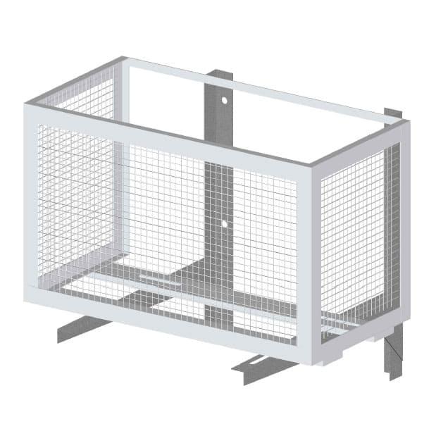 Установка наружного блока 07-12 в корзину (если требуется в ЖК)