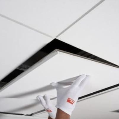 Разборка/сборка плиты Армстронг (потолок)